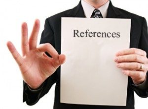 Vital Job Hunting Tips #3 – Reference Letters